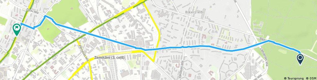 Short bike tour through Riga