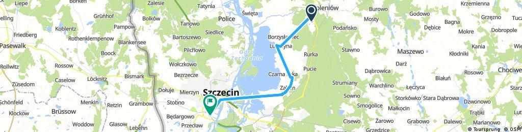 Quick bike tour through Szczecin
