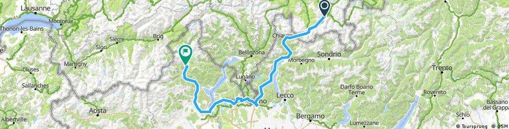 St. Moritz-Como-Domodossola