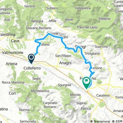 Colleferro-Paliano-Fiuggi-Ferentino