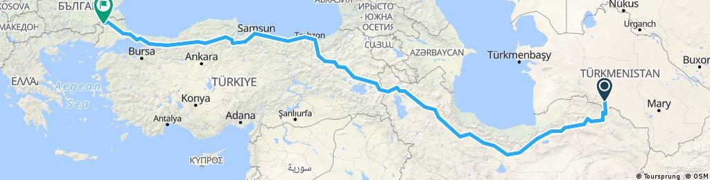 TRIP17-2 Ashgabat Istanbul
