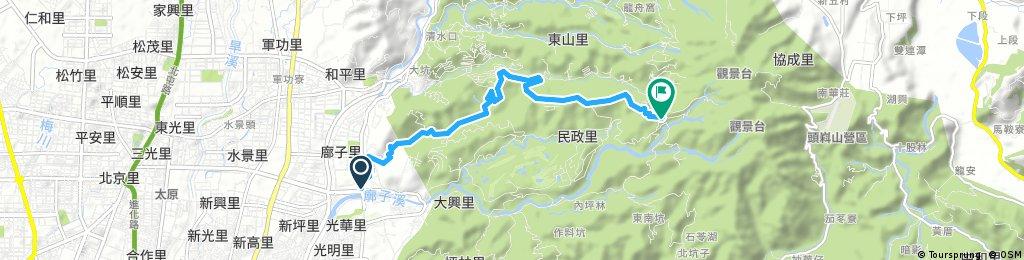 Brief bike tour through Minzheng Village