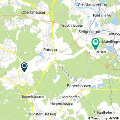 Von Ober-Roden nach Zellhausen