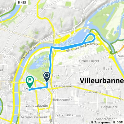 Quick bike tour through Lyon