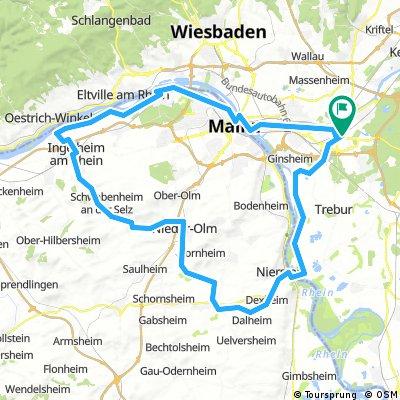 Main, Rhein, SELZ, Rhein, Main
