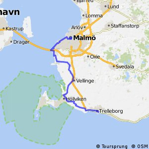 Top bike routes in Malm I Bikemap your route planner Bikemap