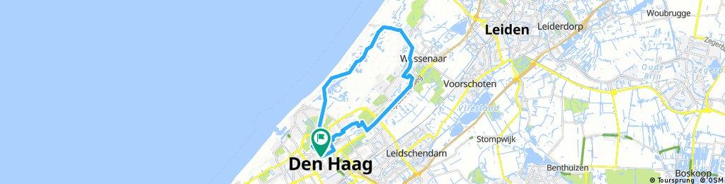 bike tour through The Hague