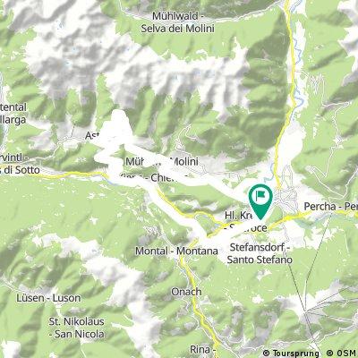 Bruneck - Pertinger Alm