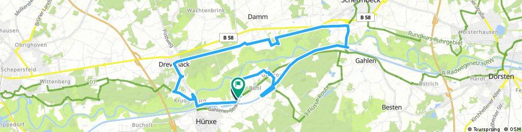 Milchweg Hünxe