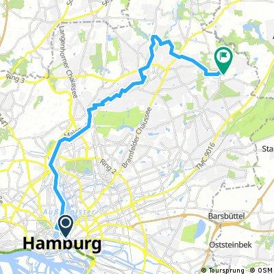 Alstertour mit Abstecher nach Volksdorf