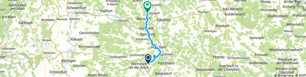 Lange Ausfahrt nach Rattelsdorf