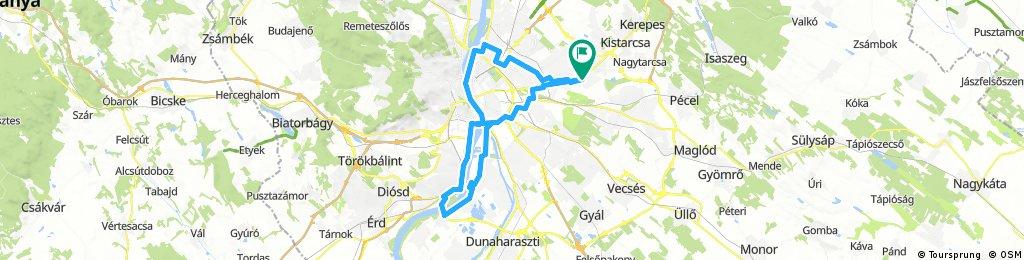 Ciluskàval lengthy bike tour from július 15. 11:54