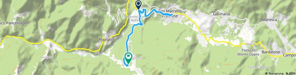 Short ride through Piteglio