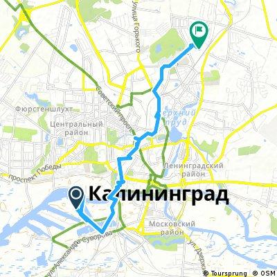 Short bike tour through Kaliningrad