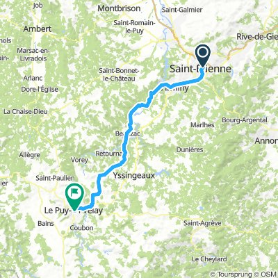 St. Etienne nach LePuy