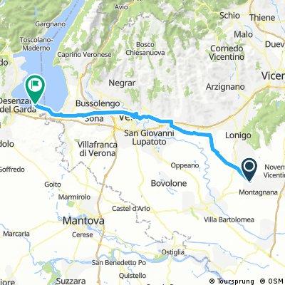 Day 40: Montagnana to Sirminone