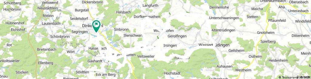 Runde um den Hesselberg