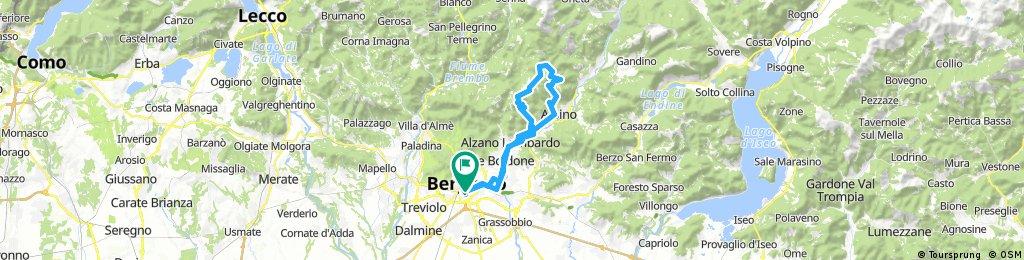Periplo Monte Poieto - Sentiero del Camocco