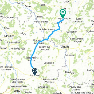 201706 Lapallisse to Issy l'Eveque