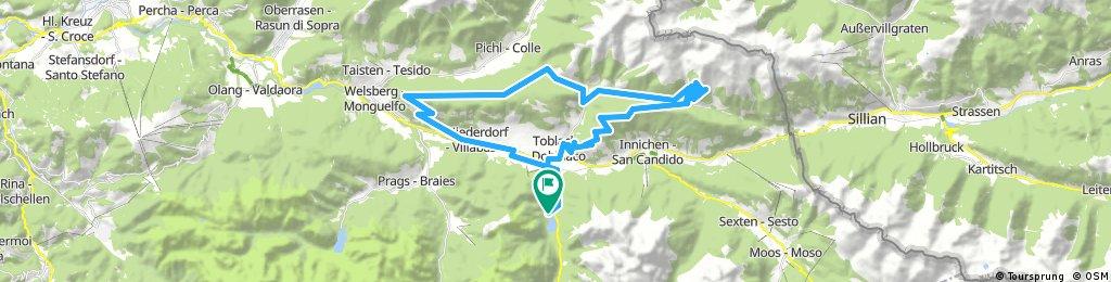 Long bike tour from 7/14/17, 18:07