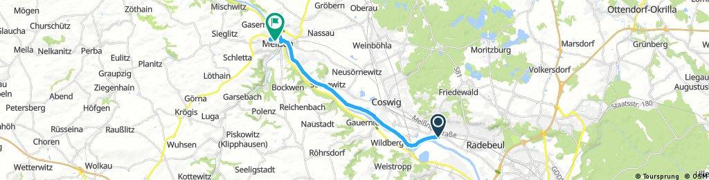 Radebeul nach Meissen