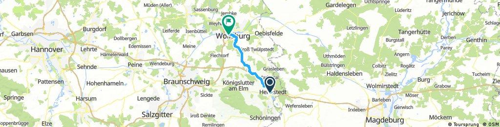 Wolfsburg - Helmstedt