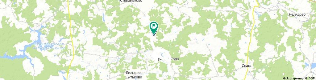 ride through Козлово
