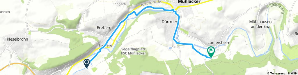 Kurze Ausfahrt durch Mühlacker