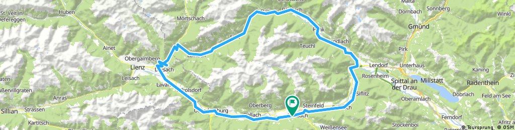 Dráva mentén + Alpokadria kör