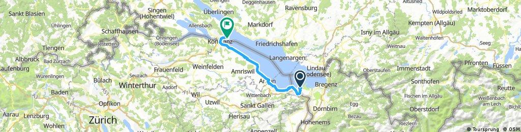 Day 47: Lake Constance to Konstanz