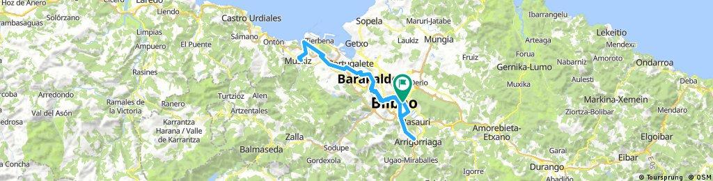 80km consorcio aguas muskiz