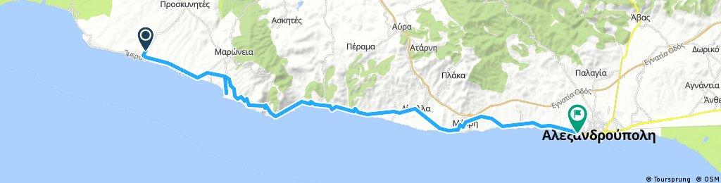 2017.07.17 Greece   Alkiona - Alexandroupoli