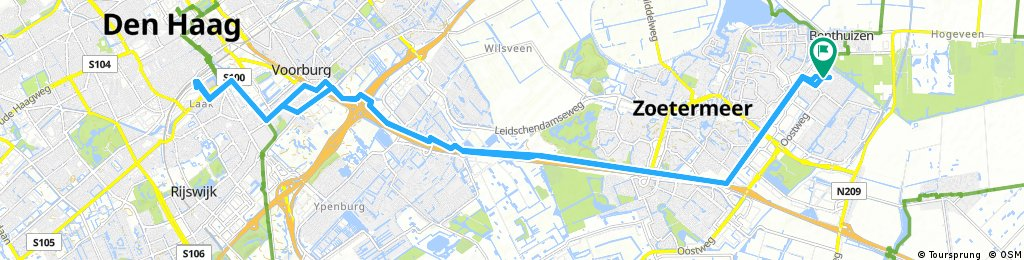 rondje Zoetermeer Den Haag werk
