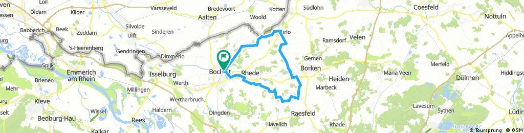 Bocholt Barlo Burlo Pröbsting Raesfeld Rhede Bocholt