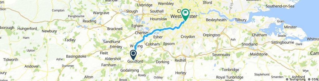 Guildford To London V2