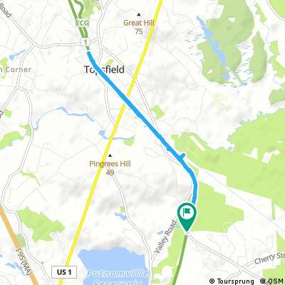 Quick ride through Wenham