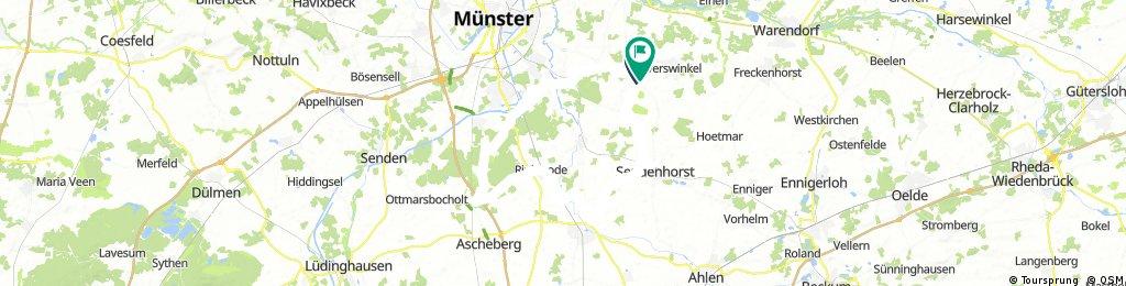 RR: Sendenhorst, Drensteinfurt, Rinkerode, Davensberg, Hiltrup, Wolbeck