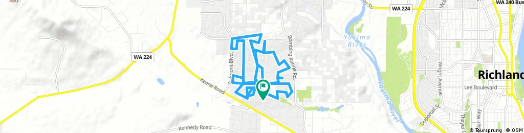 bike tour through West Richland