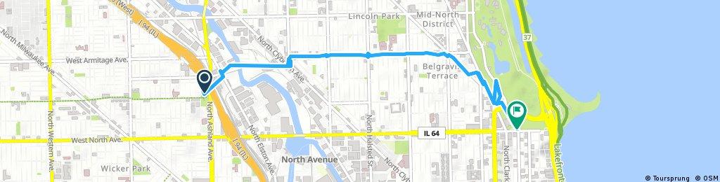 Short bike tour through Chicago