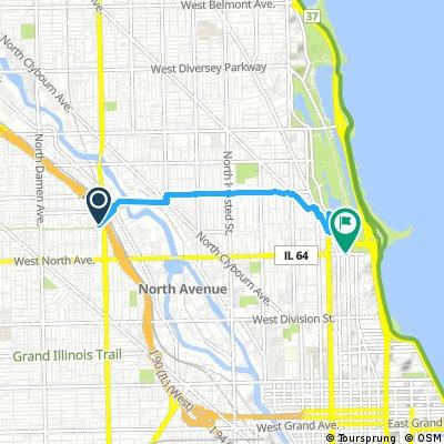 Chicago Boulevard System   Bikemap - Deine Radrouten on