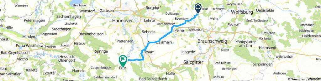 Hillerse - Elze - Nord -75 km