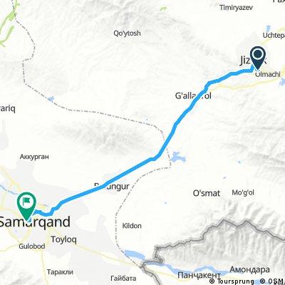 4 - Jizzax - Samarquand 102 km salita fino a 50