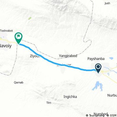 6 - Kattaqor'g' - Oxyh - 70 km