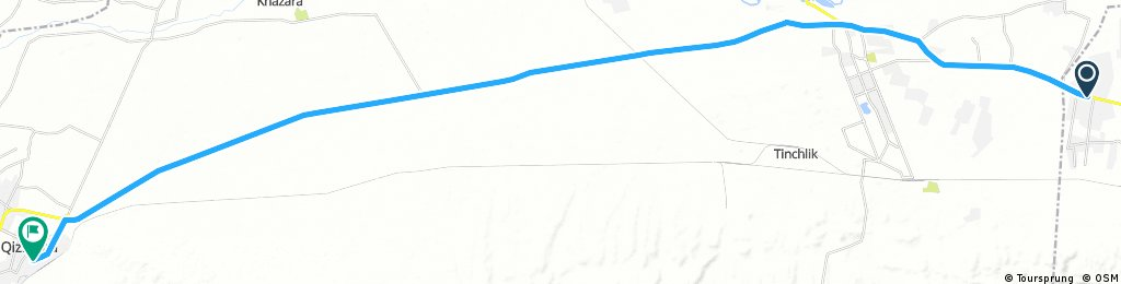 7 - Oxyh - quiziltepa 60 km