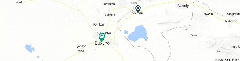 8 - Quiziltepa - Bukhara - 65 km