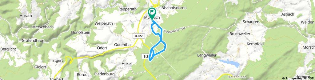 Radrunde durch Morbach