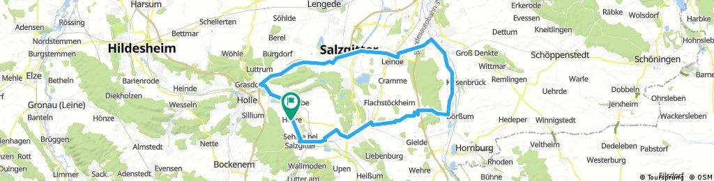Haverlah-Ohlendorf-Heiningen-Wolfenbüttel-Salder-Rhene-Heere18.07.2017..gpx