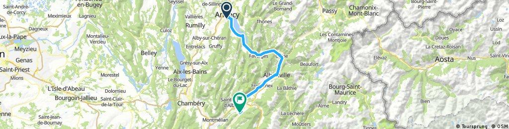 2.Etappe (Annecy-Betton)