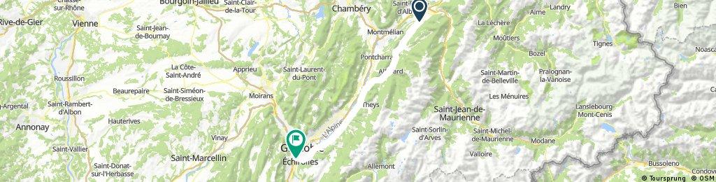 3.Etappe (Betton-Grenoble)