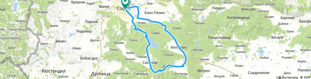 Sofia - Kostenez - Borovets - Sofia